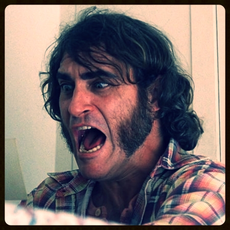 "Joaquin Phoenix as ""Doc"" Sportello"