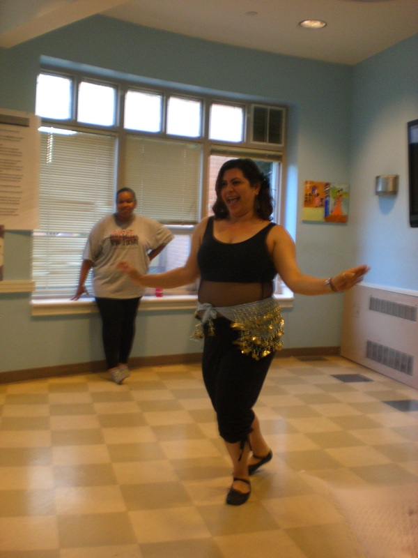 Celina Martinez, our fantastic Belly dance instructor.