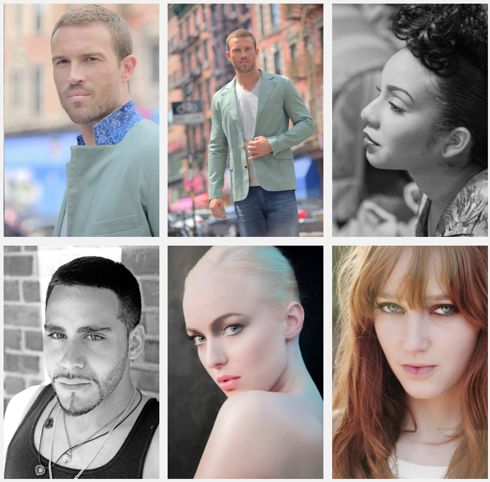 Portraits & Headshots - ⎯ Perfect for actors and models looking to update their professional portfolio.