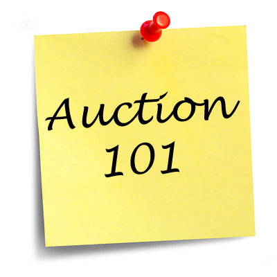 Welcome to our new series, Auction 101!