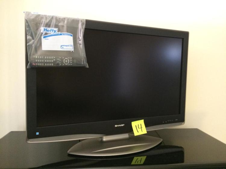 Sharp Aquos Flat screen TV w/ Remote