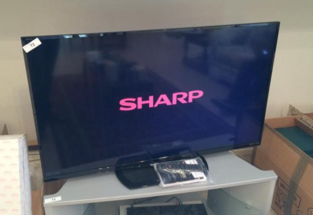 "SHARP Aquos 50"" TV"