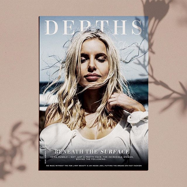My image of the incredible @krumble on the cover of @depthsofbeauty Mag ✨💕 @emmilybanks has been talking about this magazine for years, it is so amazing to see her vision become a reality! I am so excited to have been apart of it and worked with such inspiring women! Every single one of the editorials was done using natural make-up. You guys should grab a copy of the mag, it's beautiful!  Photography/ @teeganpackcreative Dream Team/ @hollie_azzopardi @kirstyannf  MUA/ @ella_titmarsh  #teeganpackphotography