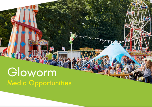 Click on the image to view Media Opportunities at Gloworm