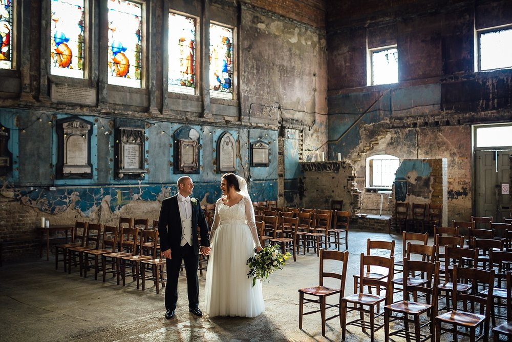 Asylum Chapel Peckham London Wedding Photographer