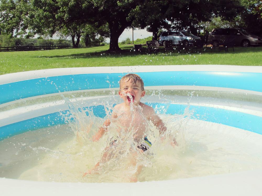4th of July splash down
