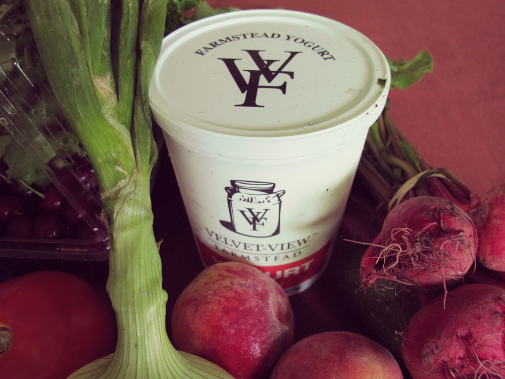 Velvet View Farmstead Yogurt - amazing