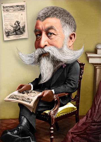 Thomas Nast Caricature by DonkeyHotey