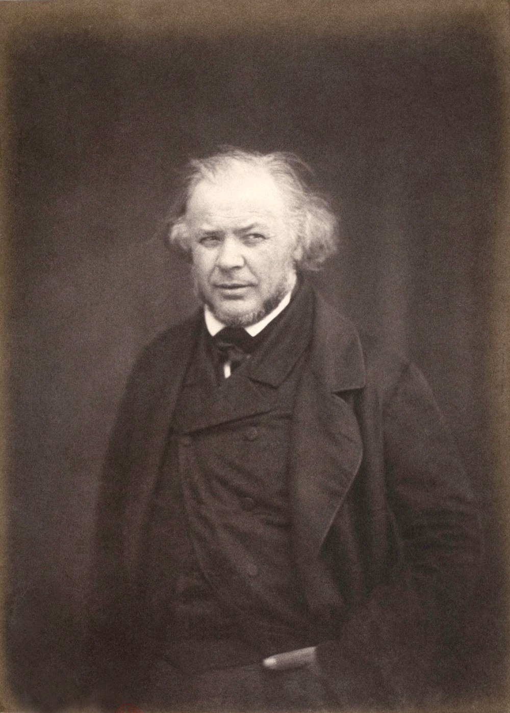 Photograph of Honoré Daumier by Victor Laisné or Lainé c. 1850. PD Source: Wikimedia Commons