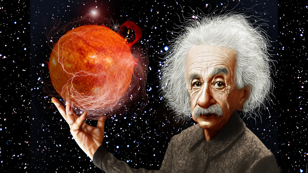 Albert Einstein caricature by DonkeyHotey. Click the image above to see attribution details.