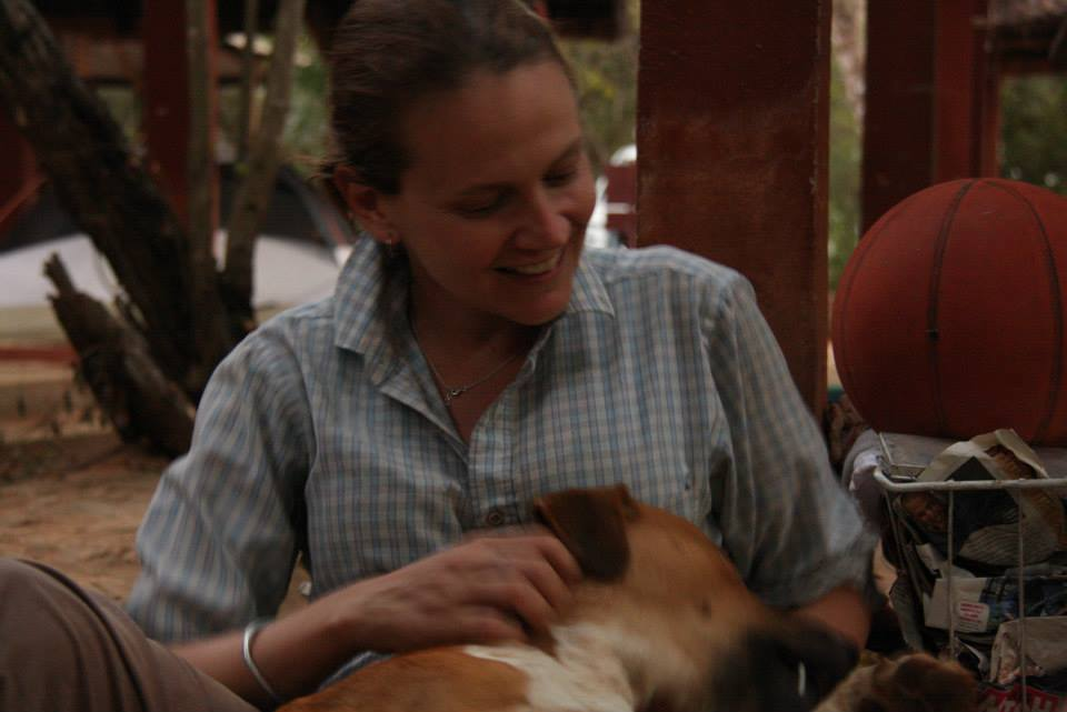 Kim and Matavy in Madagascar, Photo Credit Mad Dog Initiative