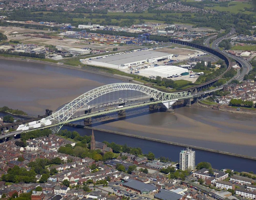 Runcorn Bridge for Lyndon Scaffolding