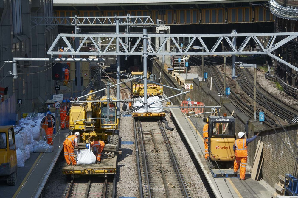 Farringdon Station upgrade for Network Rail