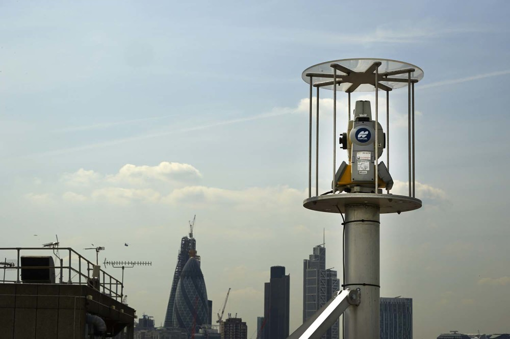 Crossrail London for Topcon