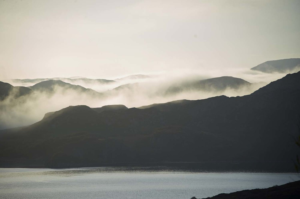 Misty Morning Gruinard Bay