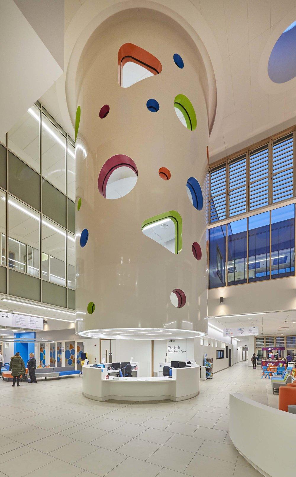 Sheffield Childrens Hospital for Simons Construction