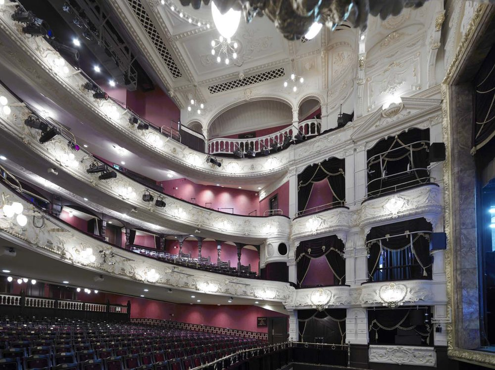 Theatre Royal Newcastle for Johnstone Paints