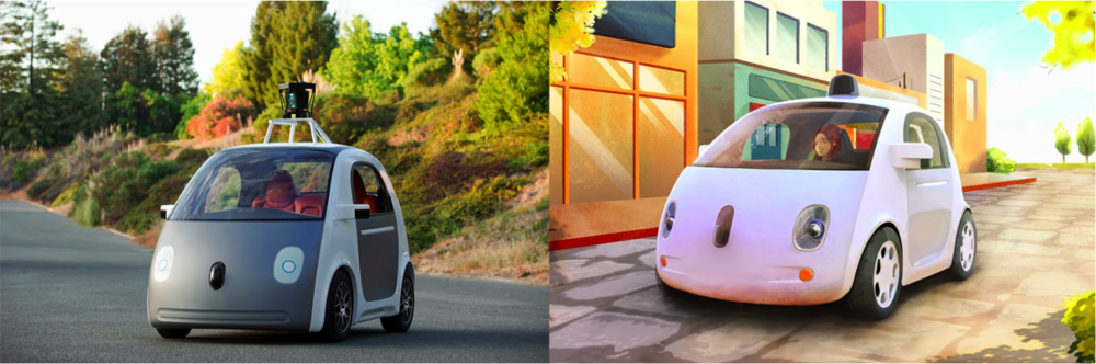 Google's autonomous car.