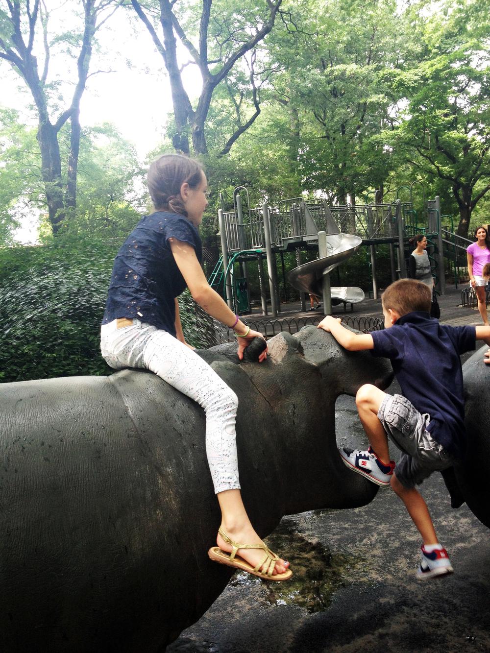 Hippo Playground, Riverside Park