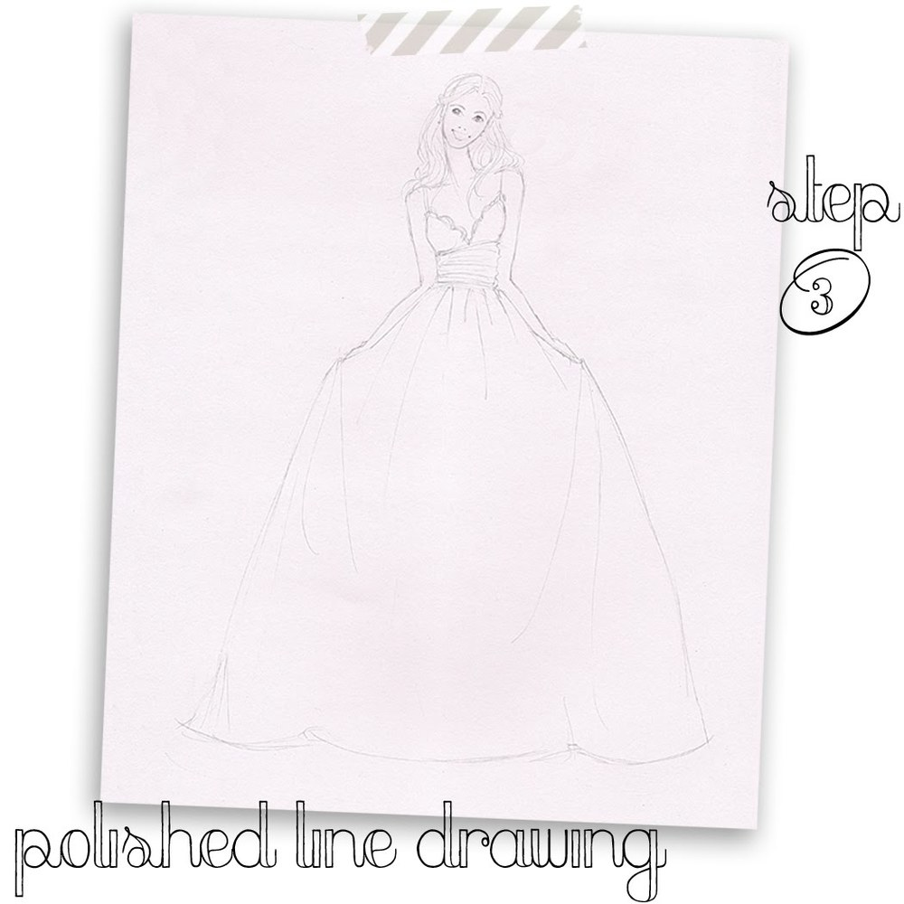 Brooke Hagel-Fashion Illustrator-Bride-Line Sketch.jpg