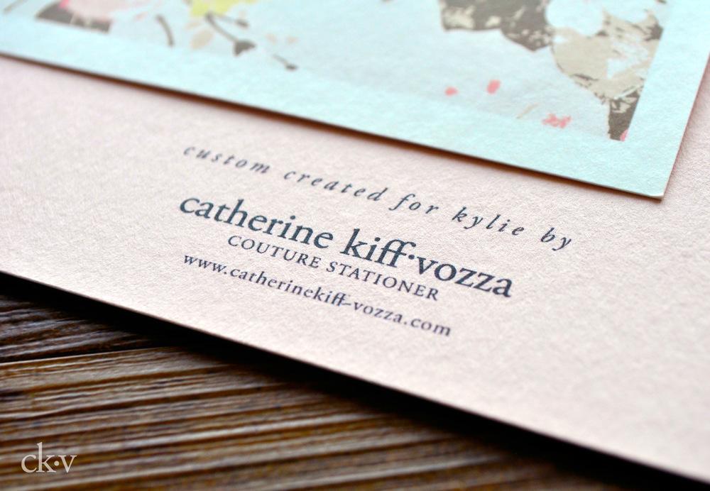 modern pink floral shower invitations