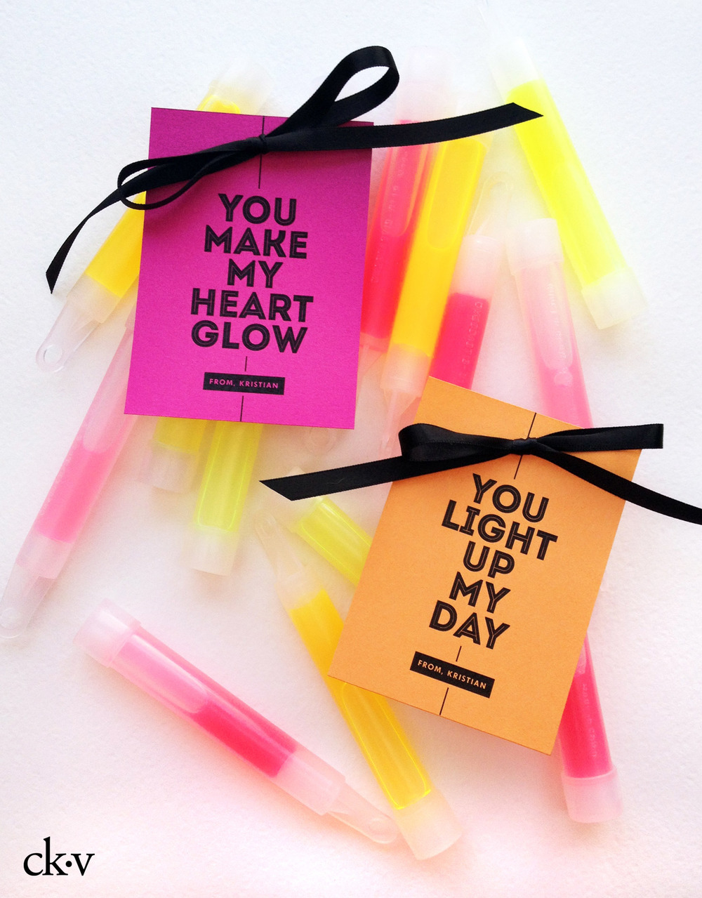 The cutest glow in the dark valentine's for school, non food and you won't have to worry about allergies!