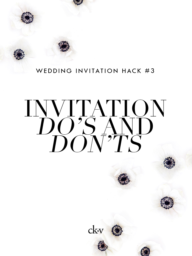 Wedding invitation tips, advice, etiquette and mailing