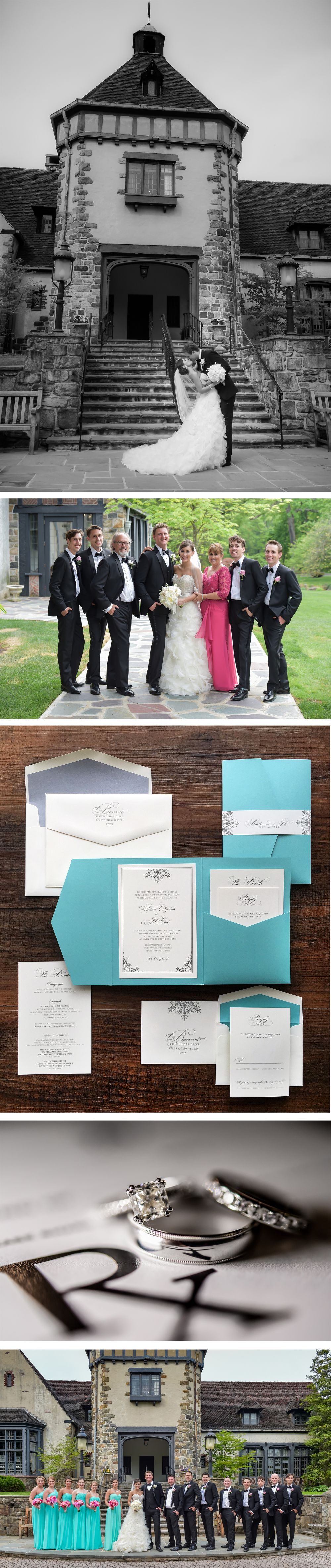 Tiffany blue Spring Wedding