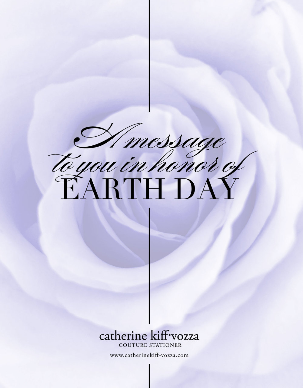 A message to our clients in honor of Earth Day