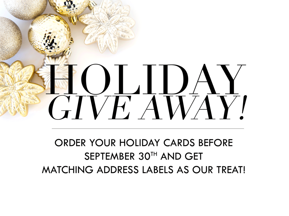 FREE HOLIDAY CARD GIVE AWAY