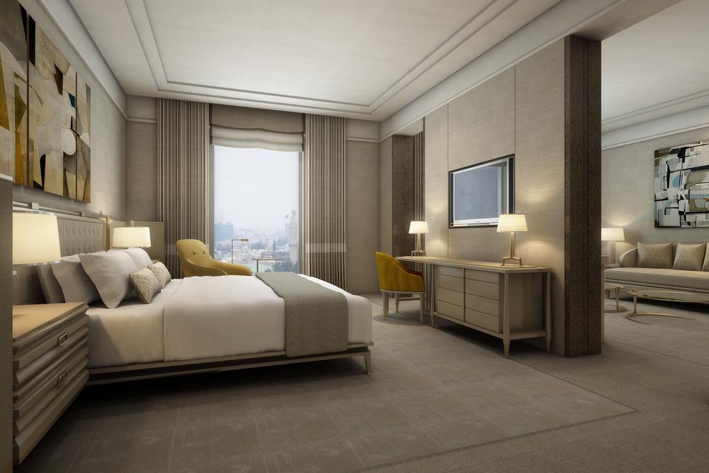 Suite Bedroom View