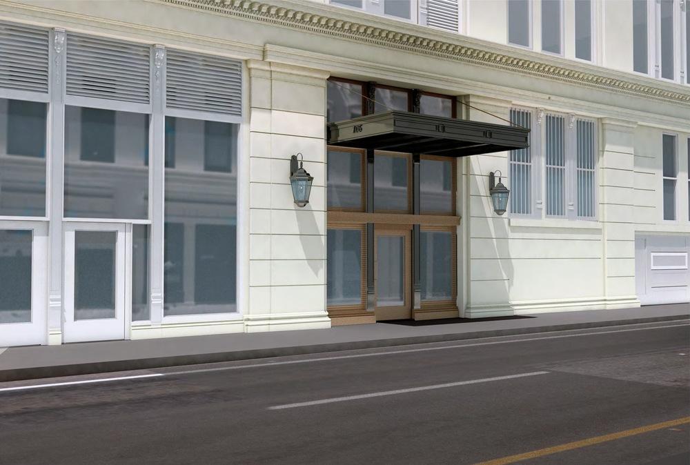 20th Street Entry