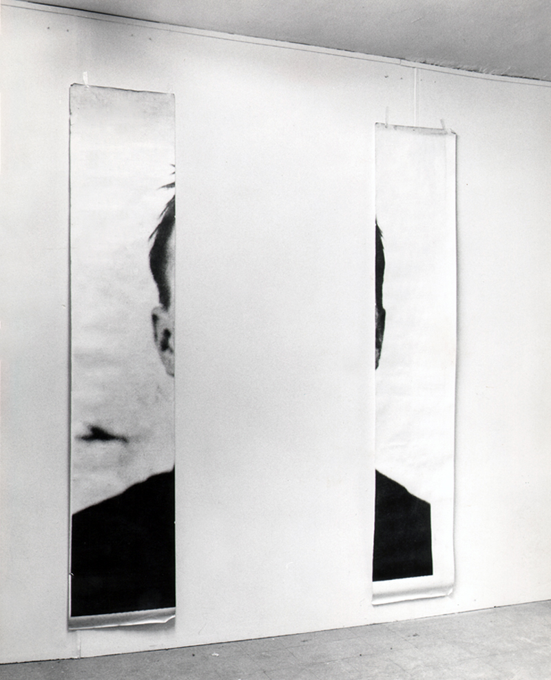 Michelangelo Pistoletto ,  The Ears of Jasper Johns,  1966