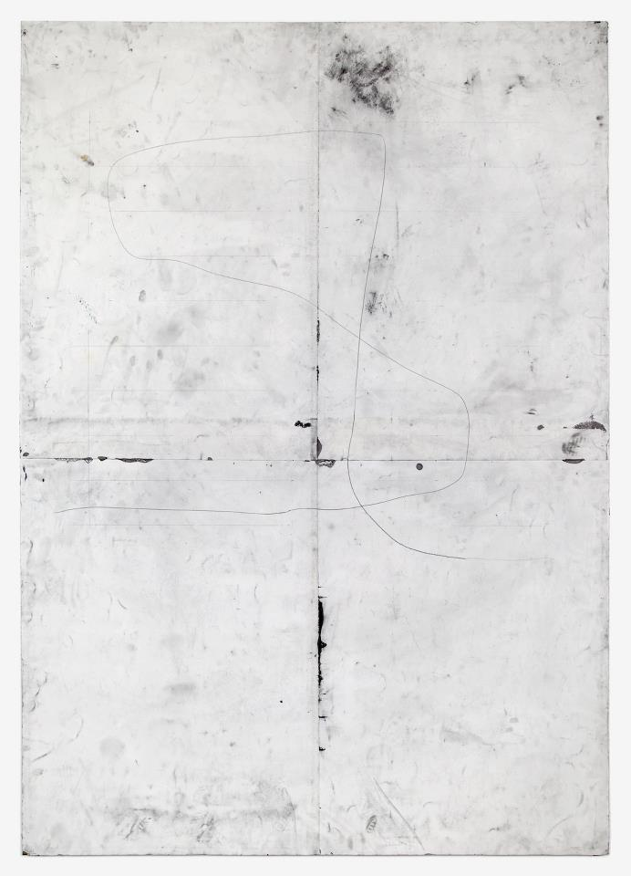 nearlya :       Tony Lewis.    ————, 2012 Pencil and graphite powder on paper