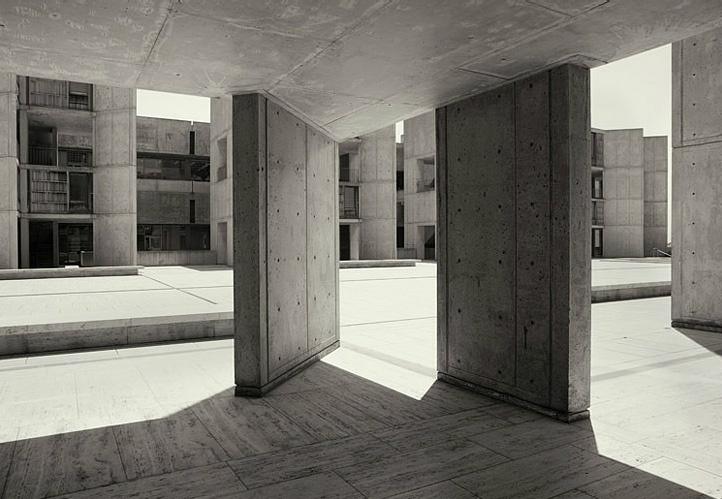 infinitehallucination: Salk institute/ Louis Kahn