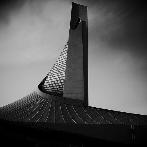v-architecture-photos :     Kenzo Tange - Olympics Gymnasium Tokyo, 1964.