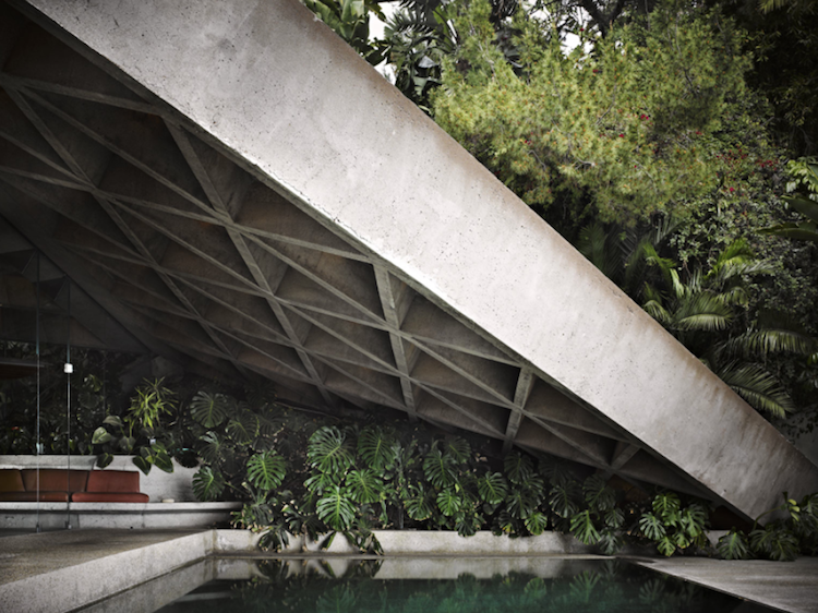 Sheats-Goldstein House by John Lautner, Beverly Hills