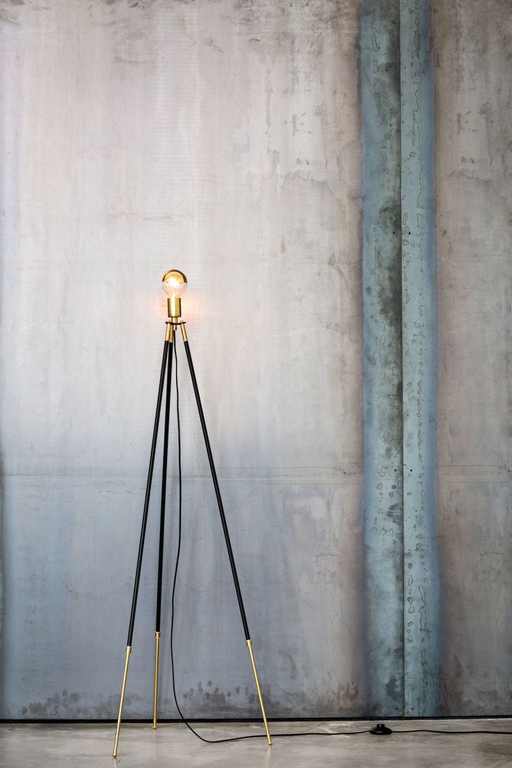 thedesignwalker: CLIFF-TRIPOD FLOOR LAMP by Lambert & Fils - Available through