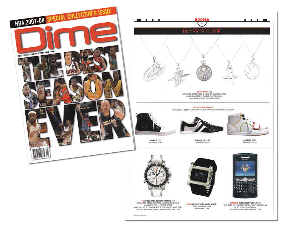 Dime Magazine  2007