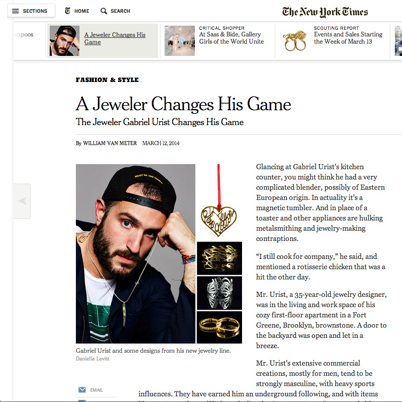 The New York Times   March 12, 2014