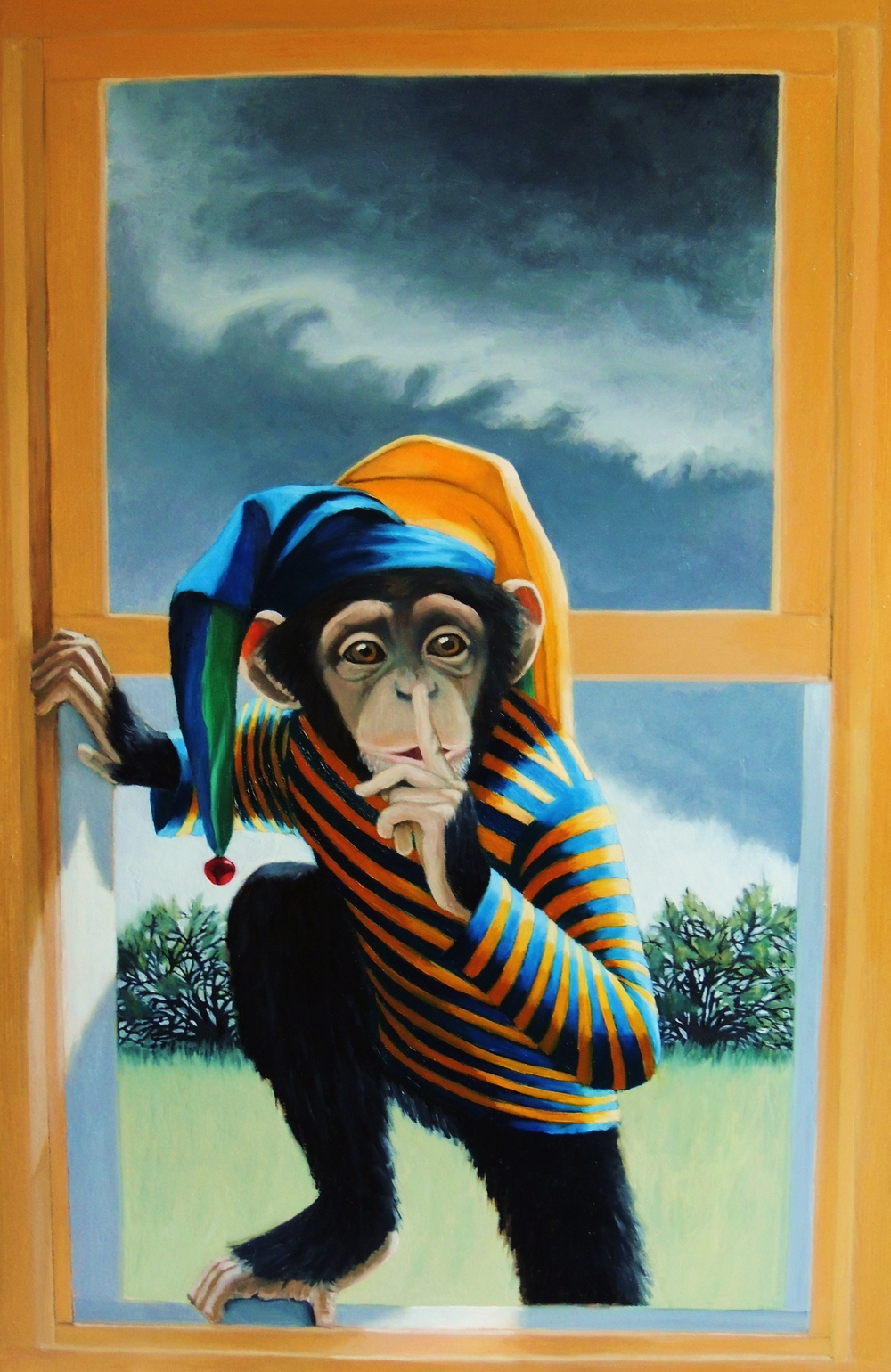 Trickster/Sold/Giclees Available