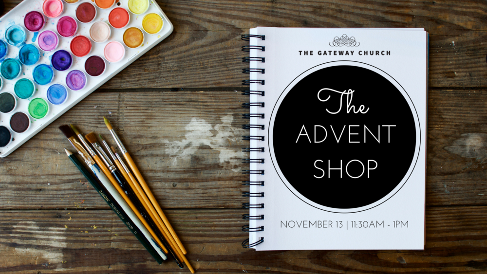 This Holiday season, The Gateway Church will host our 4th annual Advent Shop to help individuals purchase and create gifts that will inspire and make an impact. Gifts will include locally made, justice oriented, socially conscious and handmade goods. Free & open to the public!  Purchases will support organizations such as Freedom for Youth, Hopeful Africa, International Justice Mission and Enlace. Invite a fried to join you on November 13th as we give more at the Advent Shop!  The shopping event will take place immediately after service on Sunday, November 13th from 11:30 am to 1 pm.   If you are interested in applying to be a vendor, please contact Jess Evans at jevans@freedomforyouth.org for more information.   Applications will be accepted through the month of October.