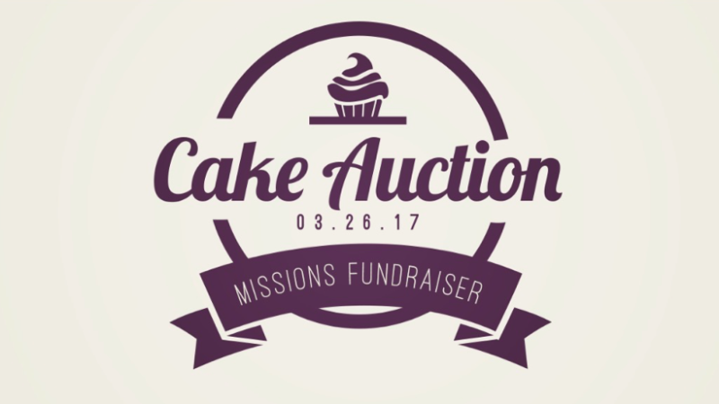 Join us Sunday, March 26 immediately after service for another highly anticipated Cake Auction! Cakes and homemade desserts will be auctioned off by the El Salvador team to raise money for their upcoming trip with our missions partner ENLACE.