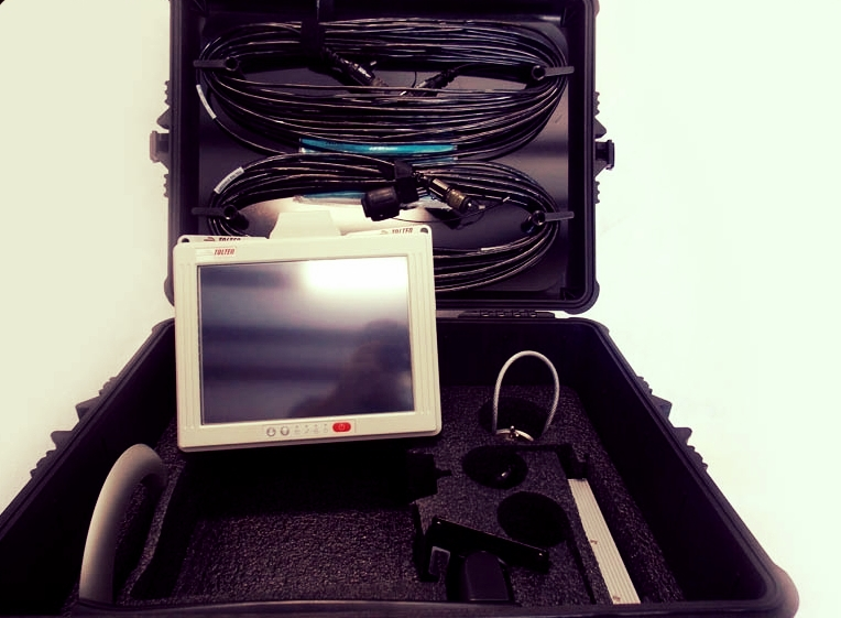 We use Tolteq's wireless surface system with touch screen rig floor display and DigiDrill for gamma logging software.