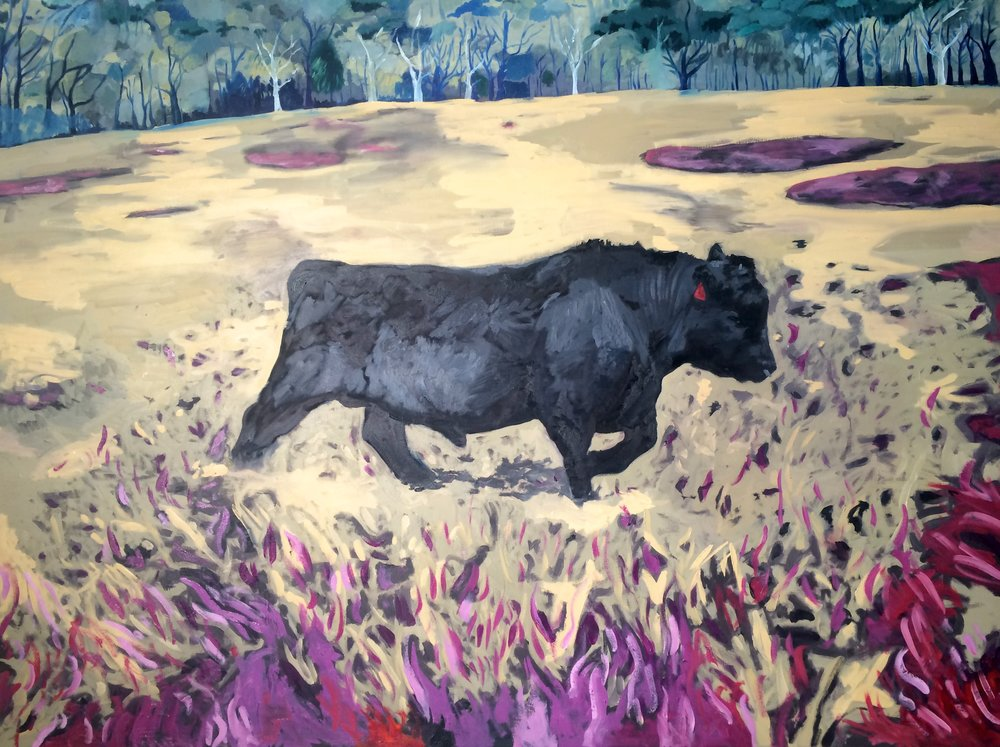 Yearling, oil on canvas, 56x72