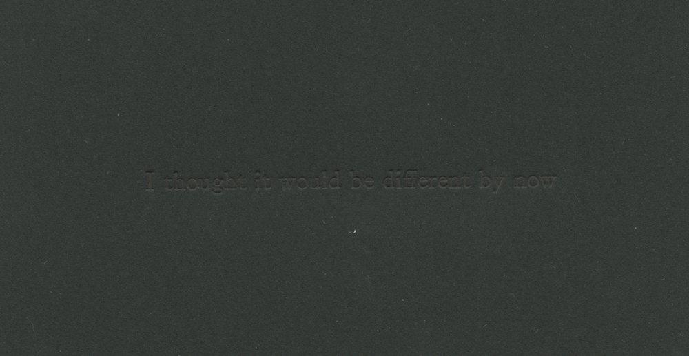 letterpress  2.5x4 in.  2016