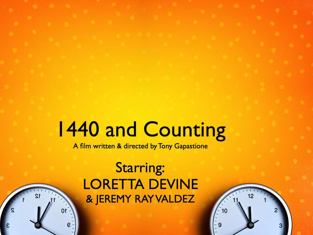 IT is happening. I cast my two lead roles!! Production begins AUGUST 24TH!  Check out our facebook page!  https://www.facebook.com/1440andcounting