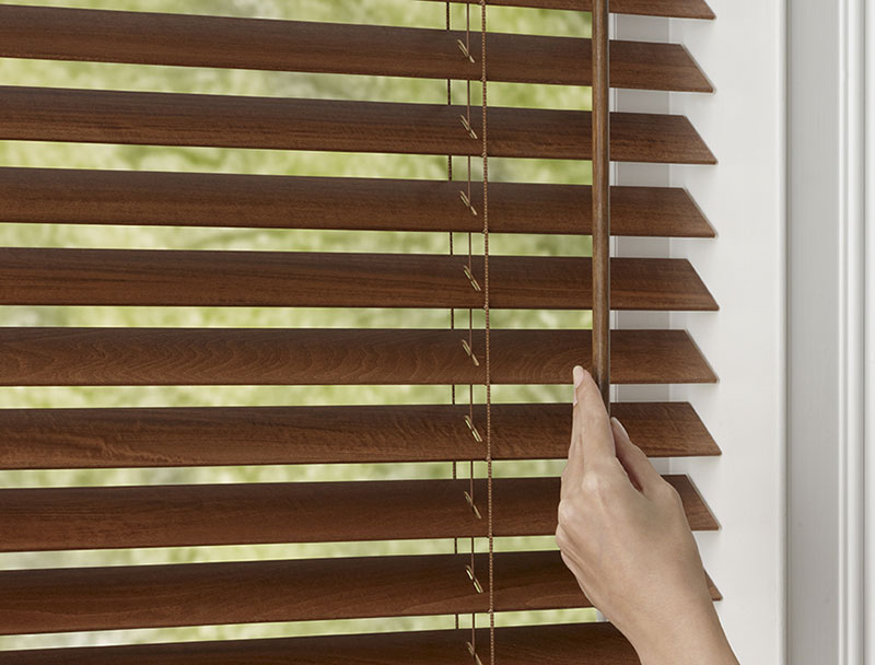 Premium Wood Blinds Crown Shade Company