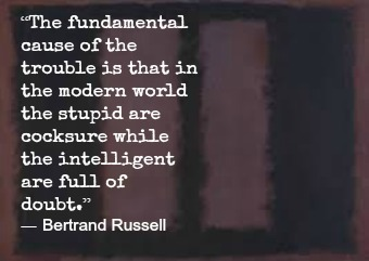 Bertrand Russell and Mark Rothko with Hypnotherapist in Central London Image.