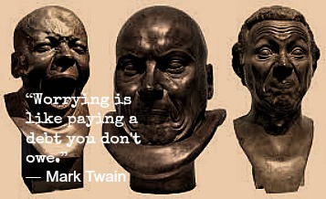 Mark Twain and Franz Messerschmidt with Hypnotherapy in London Image